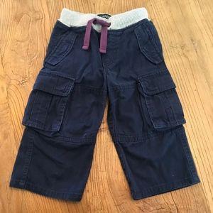 Mini Boden Navy Cargo Pants